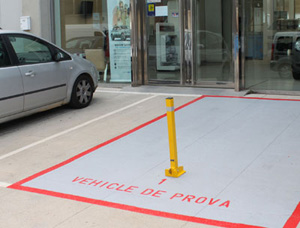 barrera abatible guardaparking